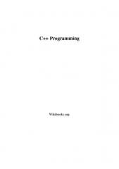 Pont sur l'Ource - English: PDF Version of English Wikibook on C++ Programming