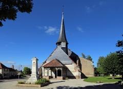 Eglise - Nederlands: Géraudot (departement Aube, Frankrijk): de Sint-Petrus-en-Pauluskerk