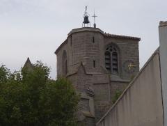 Vivier antique du lac des Capelles - Bram, Eglise Sts Julien et Basilisse