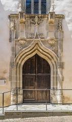 Ancienne église Saint-Jacques - English:   Portal of the Saint James church in Villefranche-de-Rouergue, Aveyron, France