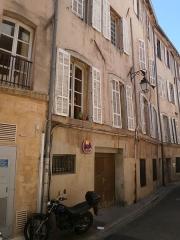 Ancien hôtel de Venel - Façade de l'ancien hôtel de Venel, 21 rue de Venel, Aix-en-Provence