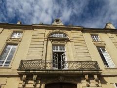 Hôtel de la Tour du Pin (Hôtel de Bricqueville) - This image was uploaded as part of Wiki Loves Monuments 2012.