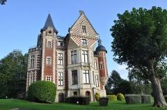 Château de Beuzeval (également sur commune de Gonneville-sur-Mer) - English: Houlgate (France, Normandy) Castle of Beuzeval