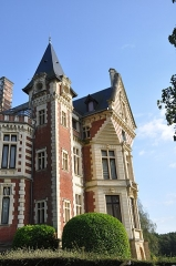 Château de Beuzeval (également sur commune de Gonneville-sur-Mer) - English: Houlgate (France, Normandy): Castle of Beuzeval