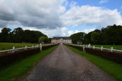 Château de Castilly - Français:   Entrée du château de Castilly.