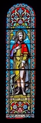 Eglise Notre-Dame de la Purification - English: Stained glass windows of the church of Our Lady of the Purification of Cassaniouze, Cantal, France