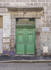Hôtel de Cébié - English: Hôtel de Cébié in Aurillac, Cantal, France