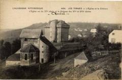 Château des Ternes - English:   Château des Ternes près de Saint-Flour, avant travaux.  date estimée.