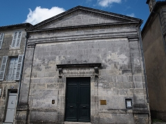 Temple protestant - Français:   Temple de Jarnac en Charente