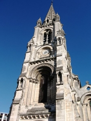 Eglise Saint-Martial - Français:   Vue du clocher