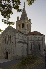 Eglise Saint-Romain - Français:   Villebois-Lavalette, Charente - église