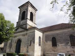 Ancien temple protestant, aujourd'hui église catholique Saint-Martin - English: Pons (Charente-Maritime) église Saint-Martin, extérieur