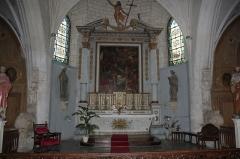 Eglise Saint-Martin - Maître-Autel, église Saint-Étienne, Fr-17-Ars-en-Ré.