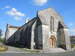 Eglise Saint-Christophe - English:   Villexavier, church Saint-Christophe, seen from northwesr