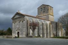 Eglise Saint-Pierre - Français:   Église Saint-Pierre Soubise Charente-Maritime France