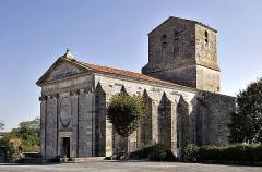 Eglise Saint-Pierre - Français:   Église de Soubise - Charente-Maritime