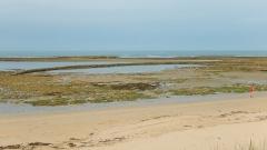 Ecluses à poissons des Sables-Vignier - Français:   L\'écluse à poissons de la Mal Bâtie, dans la commune de Saint-Georges-d\'Oléron, au large du lieu-dit des Sables Vignier.