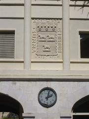 Ancien palais archiépiscopal, devenu Hôtel de ville - Français:   Palais archiépiscopal de Bourges (Cher, France)
