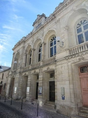 Théâtre municipal Jacques-Coeur - This building is indexed in the Base Mérimée, a database of architectural heritage maintained by the French Ministry of Culture,under the reference PA18000030 .