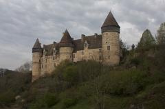 Eglise paroissiale Saint-Martial -  Castle of Culan.