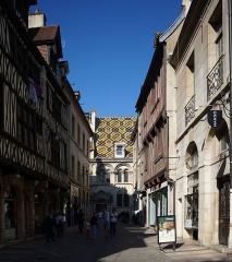 Hôtel Aubriot - Hôtel_Aubriot_(Dijon) Côte-d'Or Bourgogne-Franche-Comté