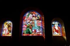 Eglise du Sacré-Coeur : l'église ; les façades et toitures du presbytère, de l'ancienne cité paroissiale, actuel centre universitaire catholique, et la clôture de ces bâtiments (cad. AV 222, 223) : inscription par arrêté du 2 août 2012 - Église du Sacré-Cœur, (Dijon, Côte d'Or, Bourgogne, France).