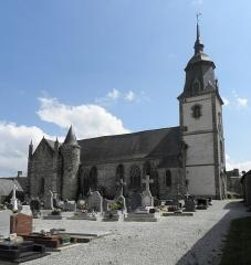 Château de Trégarantec - Église Notre-Dame de Délivrance du Quillio (22). Vue septentrionale.