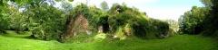 Ruines du château de La Chèze - Français:   Ruines du château, La Chèze, Pays de Loudéac, Bretagne