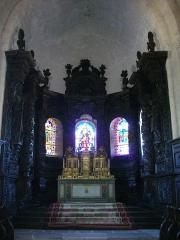Château de Montflour - Église Saint-Sylvain d'Ahun (Creuse, France), maître-autel