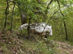 Dolmen de Cantegrel - Français:   Le dolmen de Cantegrel, Saint-Chamassy, Dordogne, France.