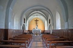 Eglise - Français:   Saint-Point-Lac - église Saint-Point (intérieur)