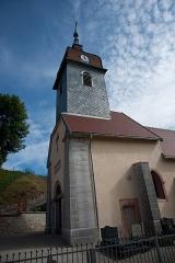 Eglise - Français:   Saint-Point-Lac - église Saint-Point (clocher)