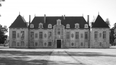 Ancienne abbaye ou château de La Croix-Saint-Leufroy - This building is indexed in the Base Mérimée, a database of architectural heritage maintained by the French Ministry of Culture,under the reference PA27000062 .