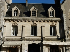 Maisons canoniales - Français:   Maison canoniale 4 cloître Notre Dame à Chartres