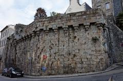 Remparts -  Vestiges des remparts de Morlaix