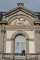 Théâtre municipal -  Le théâtre municipal de Morlaix.