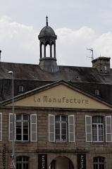 Manufacture des tabacs de Morlaix -  La manufacture des tabacs de Morlaix.