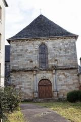 Couvent des Ursulines -  Vue du couvent des Ursulines à Morlaix.