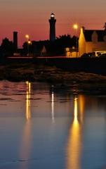 Phares de la pointe de Penmarc'h - Français:   Cette photo montre le phare d\'Eckmühl à Saint Pierre dans la ville de Penmarch