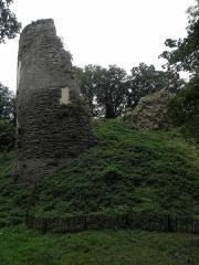 Château de Penhoat - Français:   Ruines du donjon du château de Penhoat en Saint-Thégonnec (29).