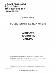 Immeuble dit Maison forte - English: US ARMY TECHNICAL MANUAL INSTALLATION AND TESTING PRACTICES AIRCRAFT FIBER OPTIC  CABLING