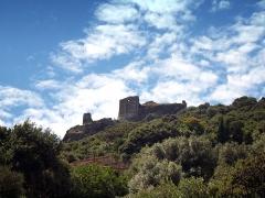 Baptistère paléochrétien de Saint-Jean - Rogliano (Corse) - Ruines du Castelacciu San Colombanu de la famille Da Mare