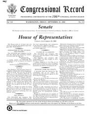 Maison Philippe de Rocca Serra -  The Congressional Record