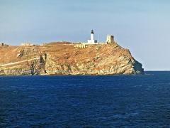 Chapelle de la Trinité -  Ersa (Corsica) - La Giraglia, phare et tour génoise