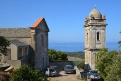Ensemble paroissial Saint-Sylvestre, -  Centuri, Cap Corse (Corse) - Chapelle de confrérie et clocher église Saint-Sylvestre, de l'ensemble paroissial Saint-Sylvestre, inscrit Monument historique