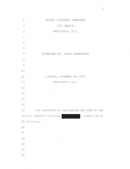 Immeuble dit Mulinu di Pendente - English: Redacted files of interview with special counsel