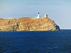 Phare de la Giraglia, sur l'île de la Giraglia -  Ersa (Corsica) - La Giraglia, phare et tour génoise