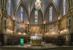 Eglise Saint-Martin - English:  Castelnau-d'Estrétefonds. The Choir.