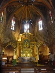 Chapelle Notre-Dame de Cahuzac - Chœur de la chapelle Notre-Dame de Cahuzac à Gimont.