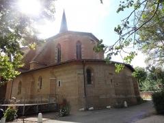 Chapelle Notre-Dame de Cahuzac - La chapelle Notre-Dame de Cahuzac à Gimont, vue du nord.